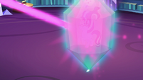 Starlight Glimmer projects prism-shaped shield S6E21