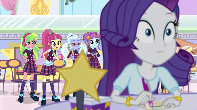 File:The Shadowbolts appear behind Rarity EGS1.png