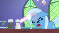 Trixie tries casting transfiguration again S7E2