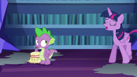 Twilight Sparkle --untangled that mess of a spell-- S6E21