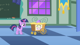Twilight Sparkle flashback nervous entrance exam S1E23