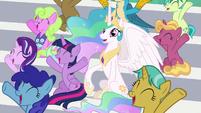 """Twilight and Celestia shout """"ship!"""" S9E15"""