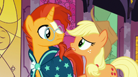 "Applejack ""none of them were ever heard from again?"" S7E25"