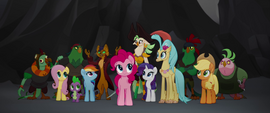 Capper rallying the group together MLPTM