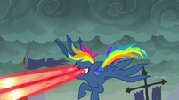 Fantasy Rainbow shooting more lasers S7E23