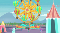 Ferris wheel at Equestria Land EGROF