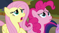 "Fluttershy ""Sombra's gonna force us"" S9E2"