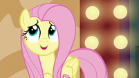 Fluttershy --that adorable bunny from the acrobat's act-- S6E20
