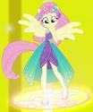 Fluttershy Friendship Power ID EGFF