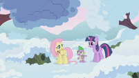 Fluttershy explains hibernation S1E11