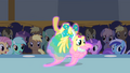 Fluttershy upside down S1E20.png