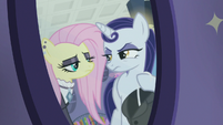 Goth Fluttershy insulting Moonlight Raven S8E4