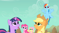 Main ponies worried about Rarity S01E19.png