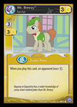 Mr. Breezy, Fan Fan card MLP CCG