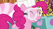 "Pinkie Pie ""have gone a teensy bit"" S4E18"