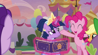 "Pinkie Pie ""it's a book of memories"" S9E26"