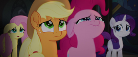 Pinkie Pie starting to cry MLPTM