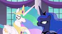 "Princess Celestia ""I can barely see straight!"" S7E10"