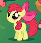 S01E01 Apple Bloom robi smutne oczy