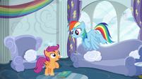 Scootaloo asks for Rainbow Dash's help S6E14