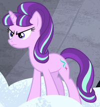 Starlight Glimmer with real cutie mark ID S5E2