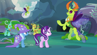Thorax -he's out there alone somewhere- S7E17