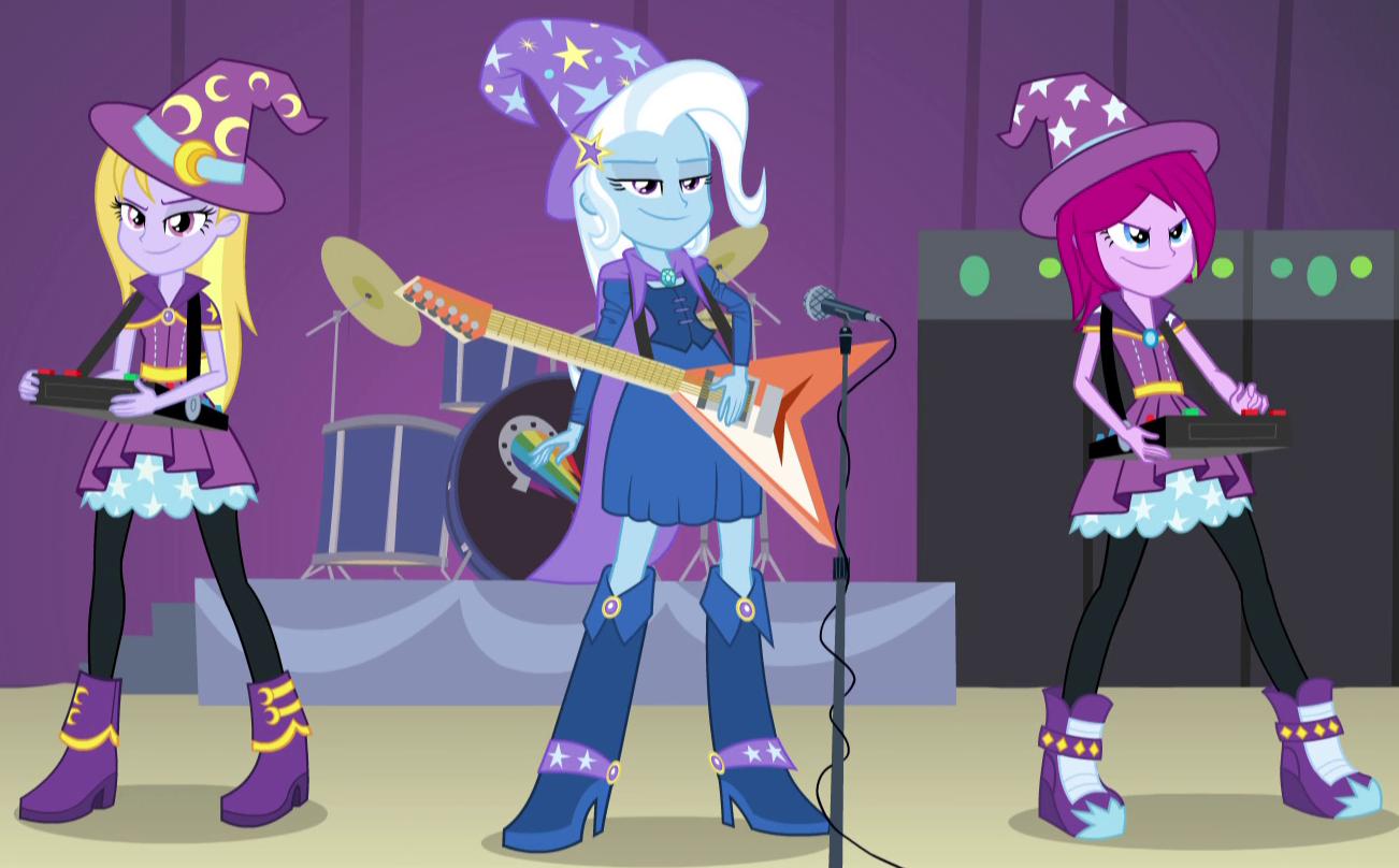 My Little Pony Girls Overall fuchsia