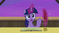 "Twilight Sparkle ""how long have you been waiting?"" S7E22"