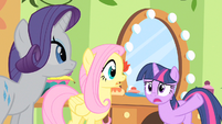 Twilight almost spilling the beans S1E20