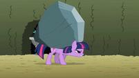 Twilight carrying rock S2E01
