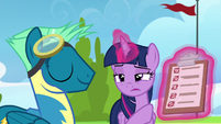 Twilight points at Sky's poor practice marks S6E24