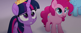 Twilight surprised by Tempest's appearance MLPTM