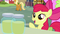Apple Bloom offering to buy pear jam S7E13