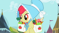 Apple Bloom strolling through town S2E12
