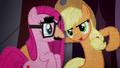 Applejack encouraging Pinkie Pie BFHHS4.png