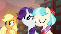 Coco Pommel nodding her head S5E16
