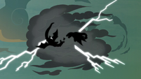 Dragons getting struck by lightning S7E16