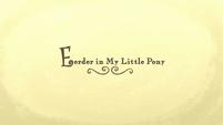 Dutch 'Previously on My Little Pony' (Season 6)