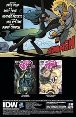 FIENDship is Magic issue 5 credits page