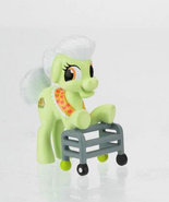 Granny Smith miniature set pony