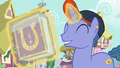 Out of Town Pony seals his journal in plastic S7E14.png