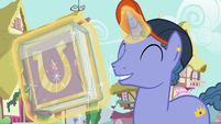 Out of Town Pony seals his journal in plastic S7E14