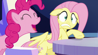Pinkie Pie pops in twice S6E1