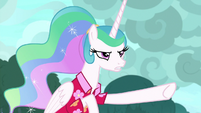 "Princess Celestia ""you dragged us to"" S9E13"