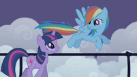 "Rainbow Dash ""I'd never leave my friends hangin"" S1E02"