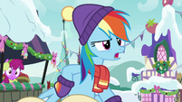 "Rainbow Dash ""do we wanna know why"" MLPBGE"