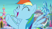 "Rainbow Dash ""relaxing in our room!"" S8E5"