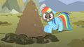 Rainbow Dash with mud on face S01E19.png