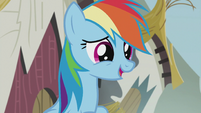 Rainbow impressed by Pinkie Pie S5E8