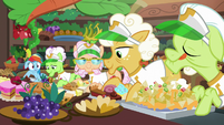 Rainbow sees grannies picking up hard foods S8E5